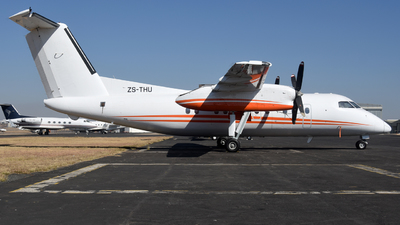 ZS-THU - Bombardier Dash 8-102 - Titan Helicopters