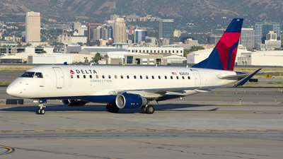 A picture of N261SY - Embraer E175LR - Delta Air Lines - © Michael Rodeback