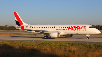 F-HBLK - Embraer 190-100STD - HOP! for Air France