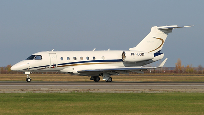 PH-LGD - Embraer EMB-550 Legacy 500 - JetNetherlands
