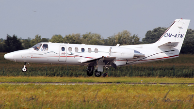 OM-ATN - Cessna 550B Citation Bravo - Air Transport Europe (ATE)