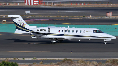 G-OICU - Bombardier Learjet 45 - Capital Air Ambulance