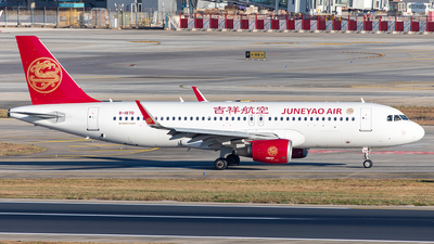 A picture of B1870 - Airbus A320214 - Juneyao Airlines - © Yan Shuai
