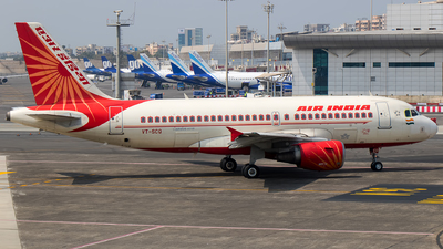 VT-SCQ - Airbus A319-112 - Air India