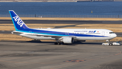 A picture of JA608A - Boeing 767381(ER) - All Nippon Airways - © Resupe