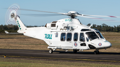 VH-TJO - Agusta-Westland AW-139 - Toll Helicopters NSW Pty Ltd