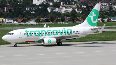 A picture of PHXRB - Boeing 7377K2 - Transavia - © Dominik Fasching