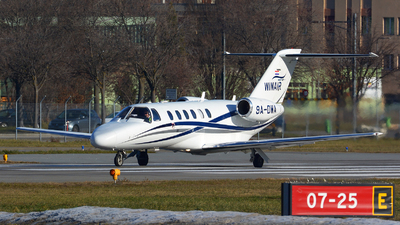 9A-DWA - Cessna 525A CitationJet 2 Plus - Winair