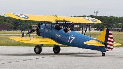 N4813V - Boeing E75 Stearman - Commemorative Air Force