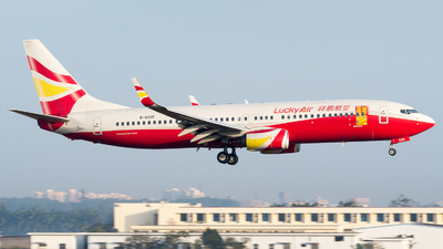 A picture of B6015 - Boeing 73784P - Lucky Air - © zhangmx969