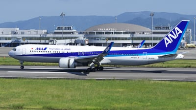 JA621A - Boeing 767-381(ER) - All Nippon Airways (Air Japan)