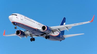 A picture of VPBGN - Boeing 7378LJ - Aeroflot - © Aleksandr Alekhichev