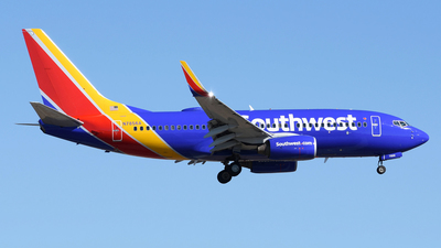 N7856A - Boeing 737-7Q8 - Southwest Airlines