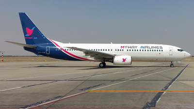 4L-MWA - Boeing 737-8AL - Myway Airlines