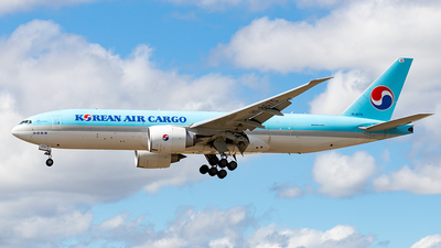 A picture of HL8075 - Boeing 777FEZ - Korean Air - © Markus Altmann