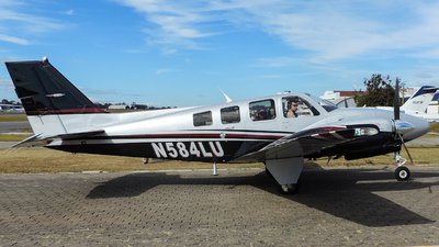 N584LU - Beechcraft G58 Baron - Private