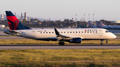 A picture of N267SY - Embraer E175LR - Delta Air Lines - © Luca Flores