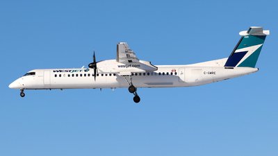 A picture of CGWRE - De Havilland Canada Dash 8400 - WestJet - © Guy Langlois