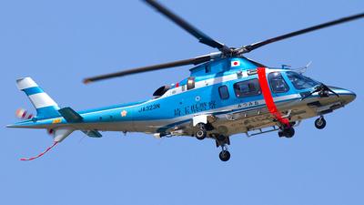 JA323N - Agusta A109E Power - Japan - Police