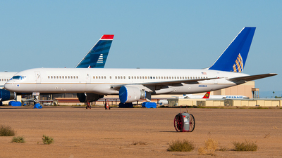 N558UA - Boeing 757-222 - United Airlines