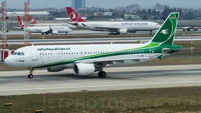YI-ARA - Airbus A320-214 - Iraqi Airways