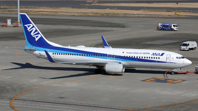 JA77AN - Boeing 737-881 - All Nippon Airways (ANA)