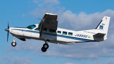 A picture of JA8890 - Cessna 208 Caravan I - [20800195] - © cunetaru