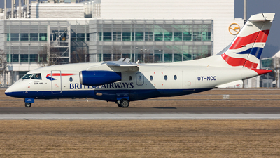 OY-NCO - Dornier Do-328-300 Jet - British Airways (Sun-Air)