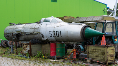 5301 - Mikoyan-Gurevich MiG-21MF Fishbed J - Czech Republic - Air Force