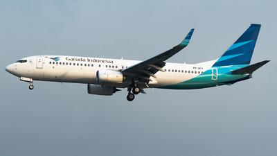 PK-GFY - Boeing 737-86N - Garuda Indonesia