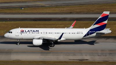 PR-TYO - Airbus A320-214 - LATAM Airlines