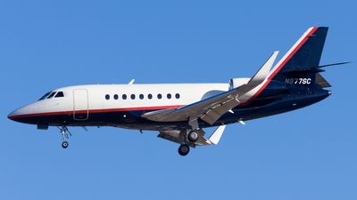 N377SC - Dassault Falcon 2000LX - Private
