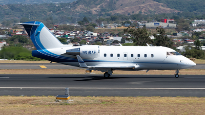 A picture of N818AF - Bombardier Challenger 604 - [5395] - © Cristian Quijano