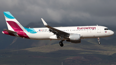 OE-IEW - Airbus A320-214 - Eurowings Europe