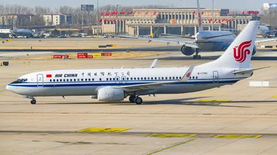B-1761 - Boeing 737-89L - Air China