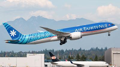 A picture of FOMUA - Boeing 7879 Deamliner - Air Tahiti Nui - © Leige Yang
