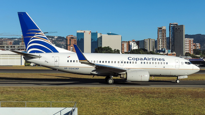 HP-1524CMP - Boeing 737-7V3 - Copa Airlines