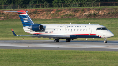 N447AW - Bombardier CRJ-200LR - US Airways Express (Air Wisconsin)