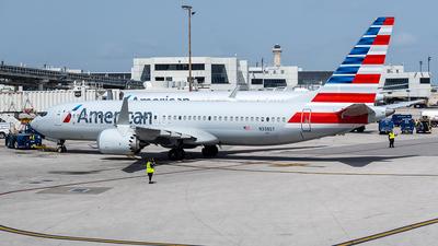 N338ST - Boeing 737-8 MAX - American Airlines
