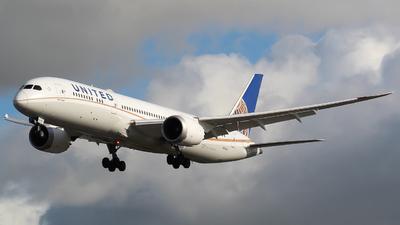 N13954 - Boeing 787-9 Dreamliner - United Airlines