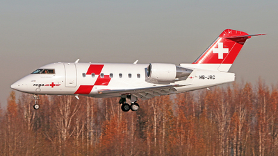 HB-JRC - Bombardier CL-600-2B16 Challenger 604 - REGA - Swiss Air Ambulance