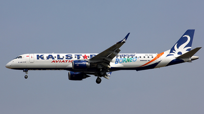 PK-KDC - Embraer 190-200LR - Kalstar Aviation