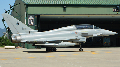 MM55133 - Eurofighter Typhoon EF2000(T) - Italy - Air Force