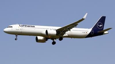 D-AIEE - Airbus A321-271NX - Lufthansa