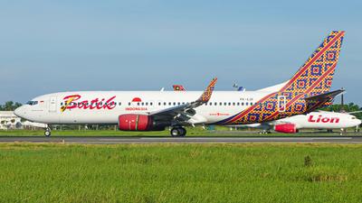 PK-LDI  - Boeing 737-8GP - Batik Air