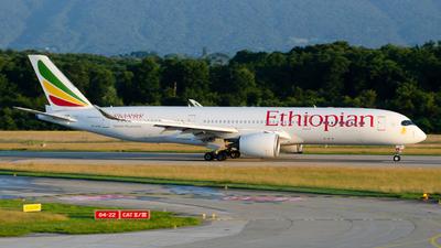 A picture of ETATQ - Airbus A350941 - Ethiopian Airlines - © Este_Aranda