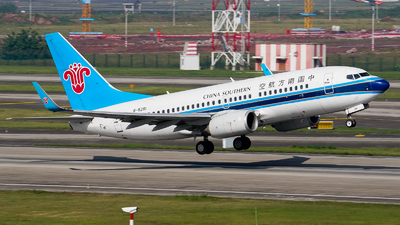 A picture of B5281 - Boeing 73771B - China Southern Airlines - © ZUCKGYQ