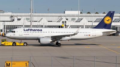 A picture of DAIUZ - Airbus A320214 - Lufthansa - © Moritz Babl