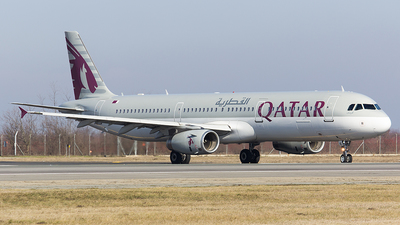 A7-AIC - Airbus A321-231 - Qatar Airways