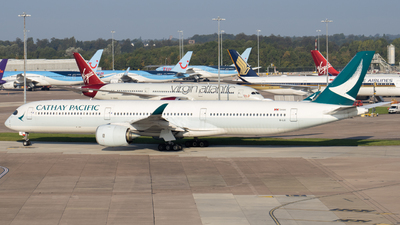 A picture of BLXI - Airbus A3501041 - Cathay Pacific - © Jess Hall